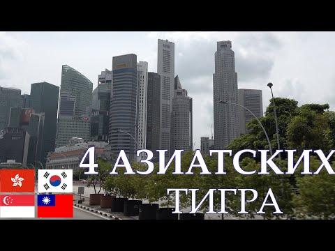 4 Азиатских тигра:
