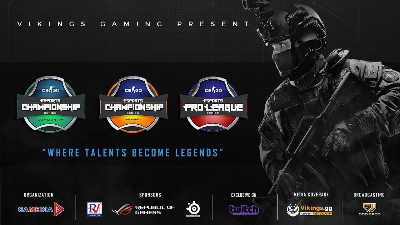Vikings Esports Championship Series 2018 - VECS
