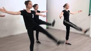 Студия Актер  Окрытый урок  Экзамен по танцу  Педагог  Делятицкая  Г А  5