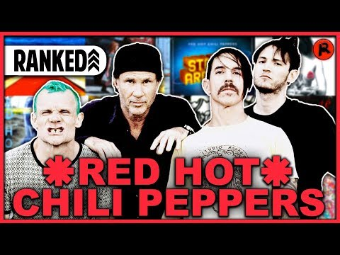 Every Red Hot Chili Peppers Album RANKED Worst to Best