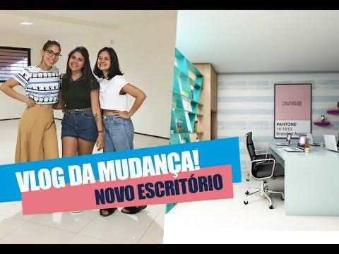 Vlog - Novo Escritório TriUP Comunicação Digital mudança