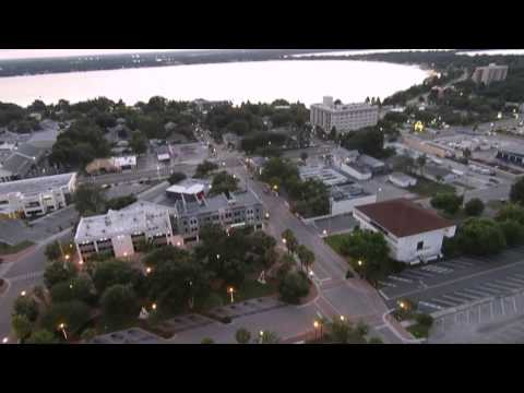 Aerial Views of Downtown Winter Haven, FL