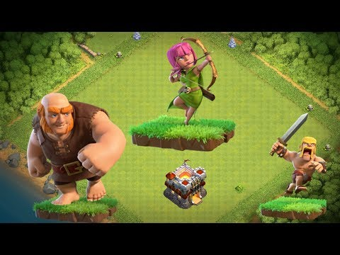 Unstoppable GiBarch Farming vs Max TH11 Bases - Clash of Clans