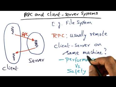 RPC and Client Server Systems - Georgia Tech - Advanced Operating Systems