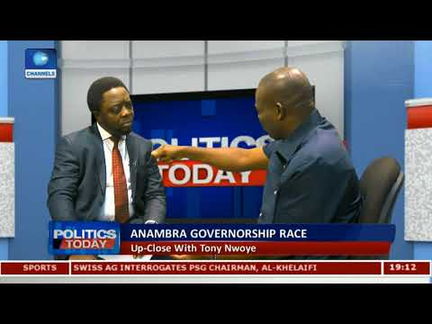Anambra Election: Jonathan 'Sold Me Out' During The Last Election - Nwoye (Watch Video)