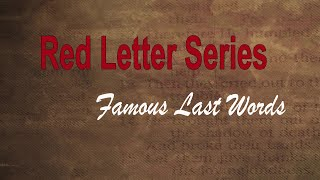 The Red Letter Series