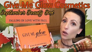 GIve me glow beauty box September 🍂 Falling In Love With Fall 🍁 Unboxing
