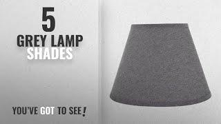 Top 10 Grey Lamp Shades [2018 ]: Aspen Creative 32181 Transitional Hardback Empire Shape Spider