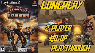 Ratchet: Deadlocked/Gladiator - Longplay 2 Player Split Screen Co-op Walkthrough (No Commentary) Ps2