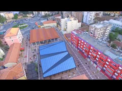 Albania,Tirana Drone Video 4K