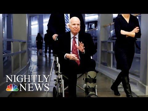 Sen. John McCain Hospitalized During Critical Week For Congress   NBC Nightly News
