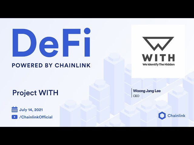 Project WITH on Chainlink LIVE   Automating International Pro Athlete Management