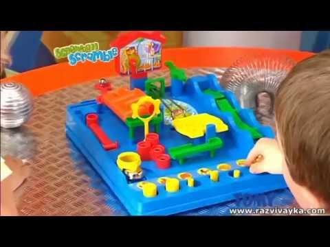 Настольная игра - Упрямый шарик - Screwball Scramble (Tomy)