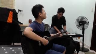 Bản tình ca đầu tiên - Duy khoa | Guitar Piano cover ft. cậu chủ Thịnh