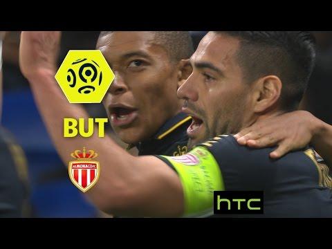 But Radamel FALCAO (36') / Olympique Lyonnais - AS Monaco (1-2) -  / 2016-17