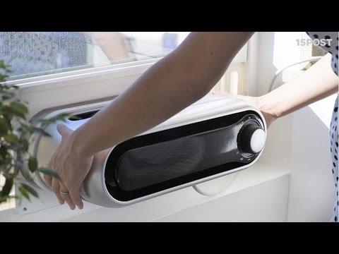 Este aire acondicionado es port til y f cil de instalar for Aire acondicionado portatil leroy merlin
