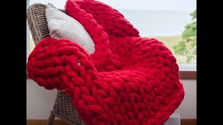 HOW TO FINISH YOUR MERINO BLANKET. CONNECT BALLS