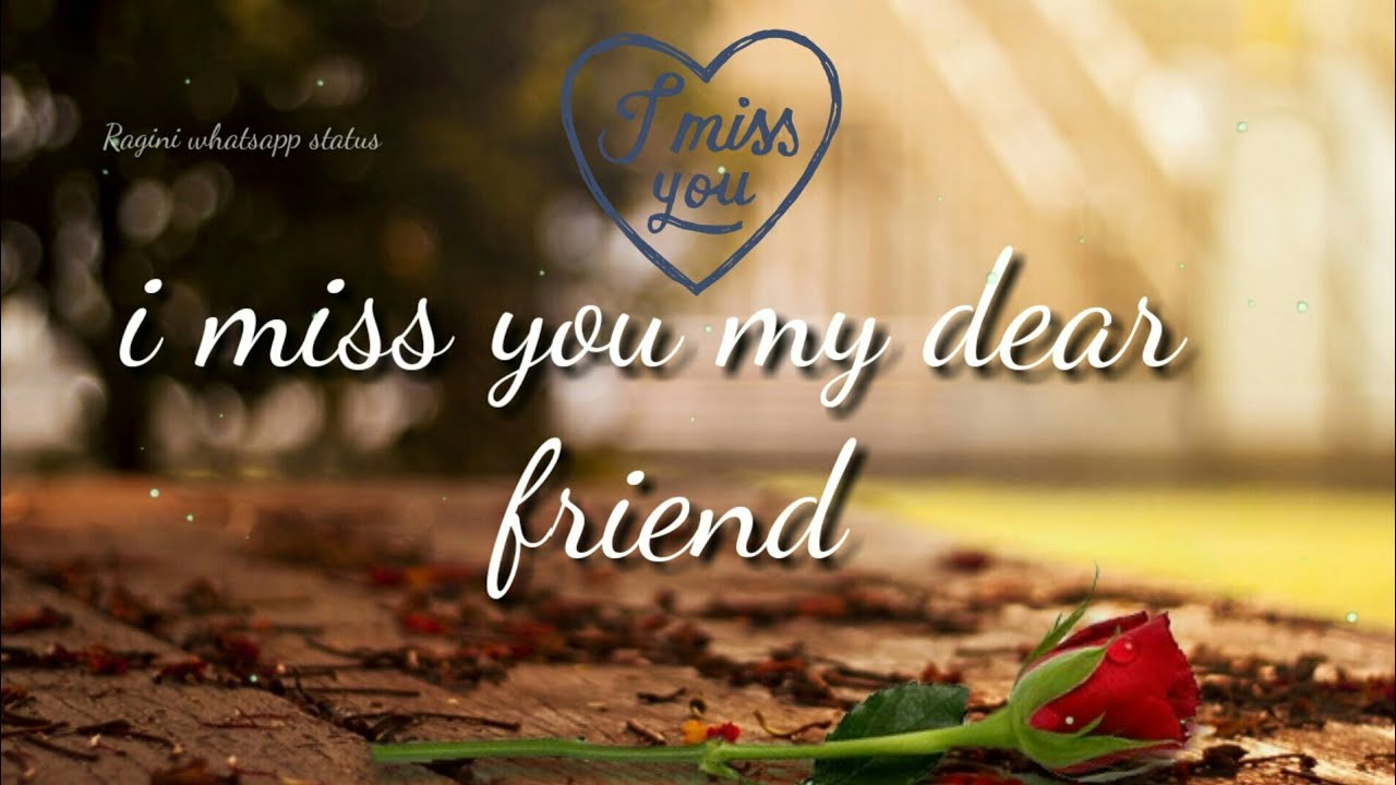 Raginiwhatsappstatus I Miss You Whatsapp Status Sad Whatsapp