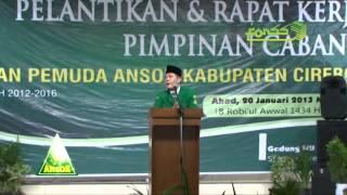 H. M. Fariz Elt Haque Fuad Hasyim Ketua PC GP Ansor Kab Cirebon