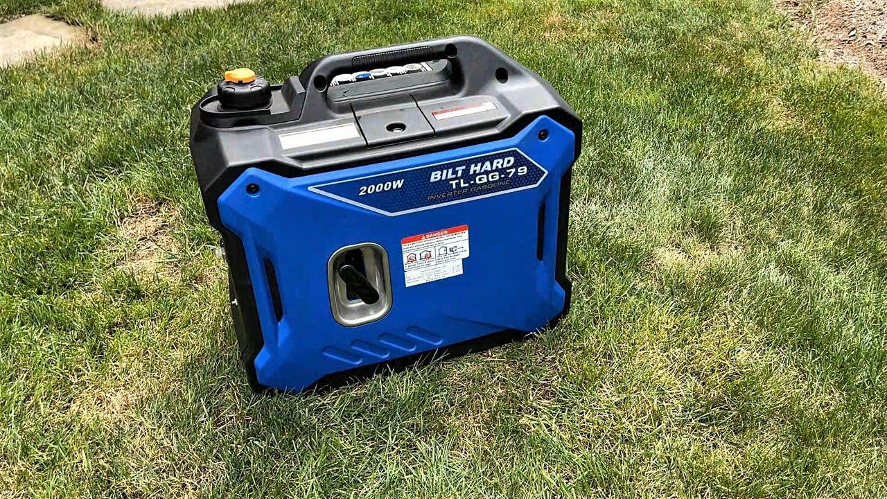 Download Bilt Hard 2000 Watt Quiet Inverter Generator Review and Test