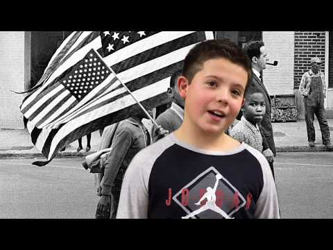 Oxbow Creek Elementary School students recite the Gettysburg Address