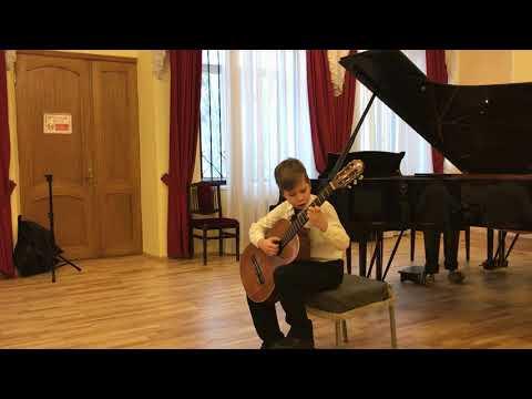 Калатауд - Болеро исполняет Гущин Илья 9 лет