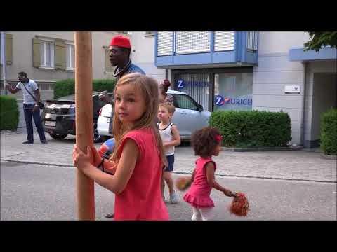 Bamba Guéye. Groupe Zurich-Dakar à Flawil Kultur. le message du Chorégraphe à la jeunesse africaine