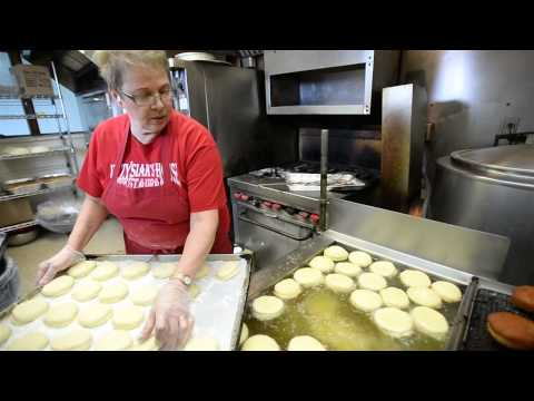 Paczki making at Bay City's Krzysiak's House