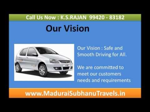 Tours and Travels in madurai subhanu travels