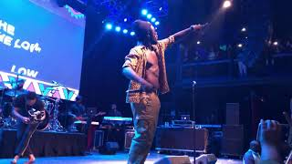 """Download lagu Burna Boy """"On The Low"""" live at the Fillmore 4-3-19"""