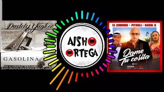 Gambar cover GASOLINA & DAME TU COSITA - Daddy Yankee vs Pitbull, El Chombo Y Karol G ft Cutty Ranks-Aisho Ortega