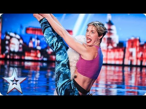 Mahny and Robbie bring Doga to BGT  | Auditions Week 1 | Bri