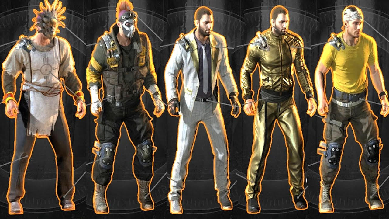 Dying Light The Following All Outfits Legendary & Collectibles Ultra GTX 5