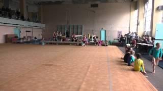 Чемпионат Мариуполя по спортивной гимнастике девочки