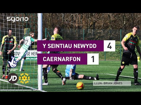 TNS Caernarfon Goals And Highlights