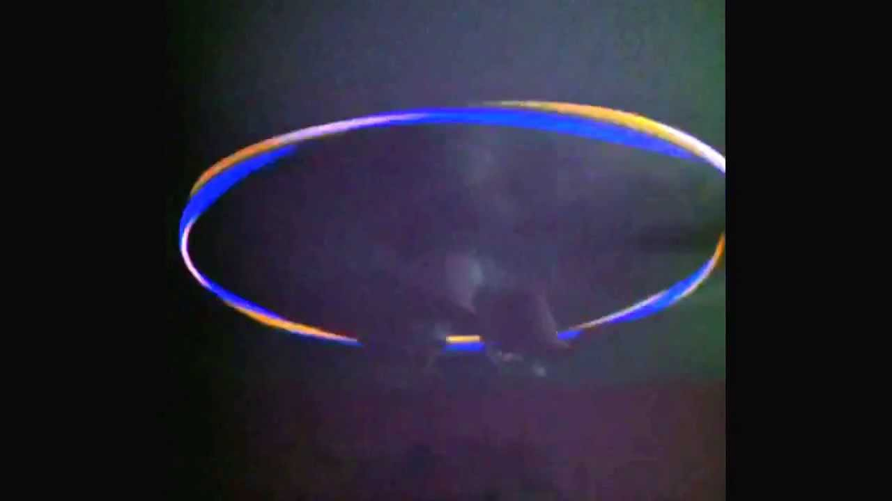 Glow Sticks On The Ceiling Fan