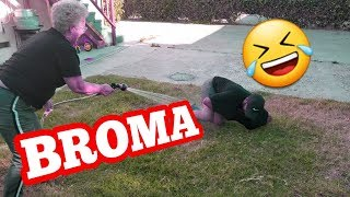Saca Los Codos Y Te Doy $100 (Broma)| Rosa y Jaime