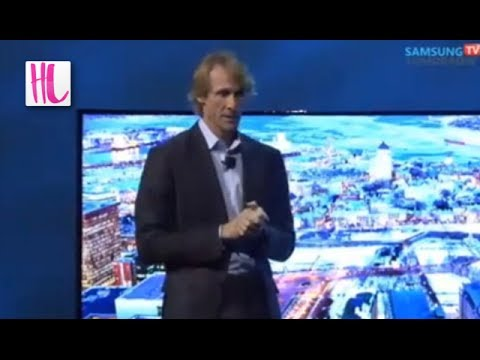 Michael Bay Meltdown Onstage Samsung CES Event
