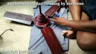 kitchen ceiling fan cleaning / Rockfort Junction