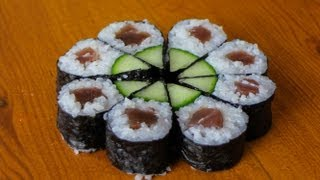 Full Moon Sushi Roll - Art Sushi Recipe