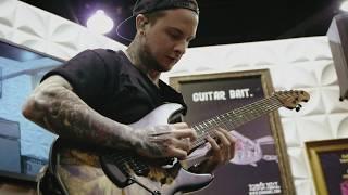 Ernie Ball Music Man: Jason Richardson Unveils his new Cutlass 7 Guitar at NAMM 2019