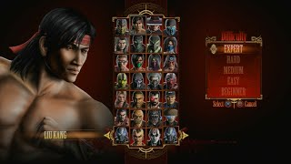 Mortal Kombat 9 - Expert Arcade Ladder (Liu Kang/3 Rounds/No Losses)