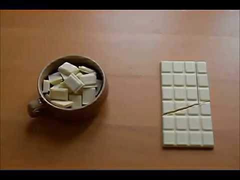 Видео, Фокус с шоколадкой