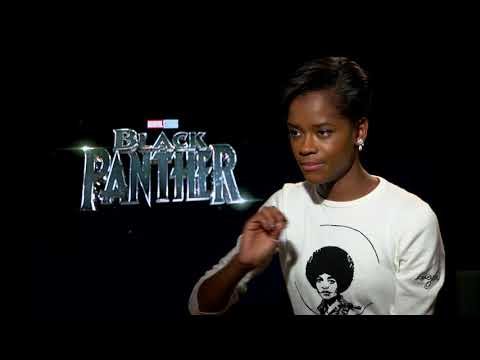 Black Panther's Letitia Wright talks Guyana and #BlackGirlMagic streaming vf