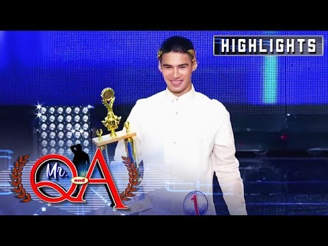 Albie Casiño is hailed as the Mr. Q and A Celebrity Edition winner | It's Showtime Mr. Q and A