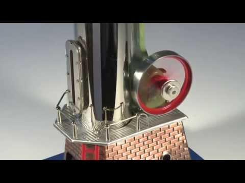 Wilesco D455 Live Working Steam Engine Model