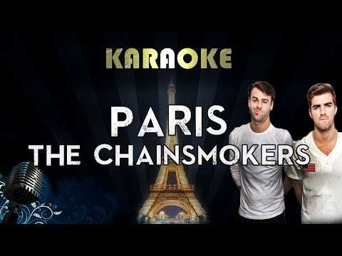 The Chainsmokers – Paris Karaoke Instrumental
