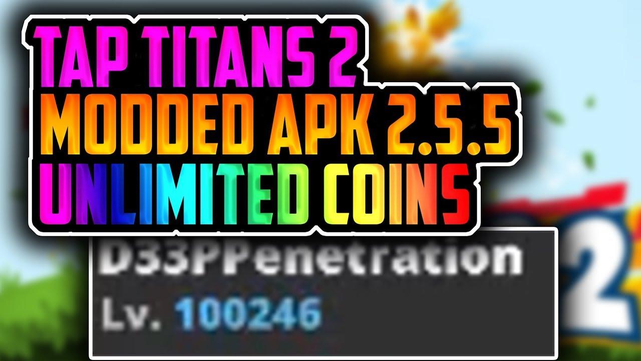 tap titans 2 hack version
