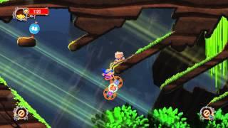 アクションパズルゲーム「Chariot」2人プレイで宝石をゲット