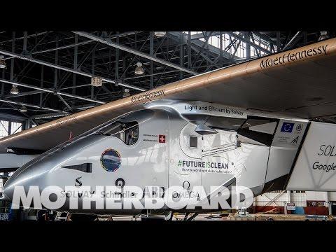 The First Solar Powered Flight Across the Atlantic